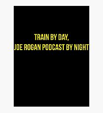 Train by day, Joe Rogan podcast by night - Nick Diaz Photographic Print