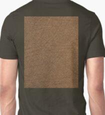 LEATHER LOOK, Leather, Antelope, Skin, Texture, Pattern, grain Unisex T-Shirt