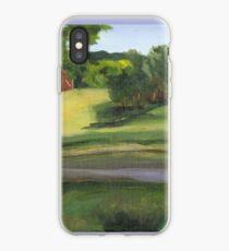 Bennington VT pond iPhone Case