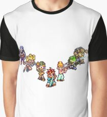 Chrono Trigger - The Team Graphic T-Shirt