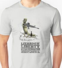 Lizards of Liberty Imperial Stout Unisex T-Shirt
