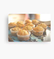 Pumpkin Muffins Canvas Print
