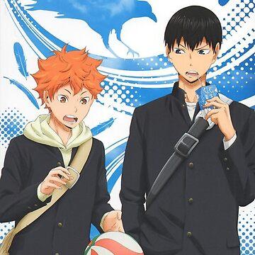 Haikyuu!! Hinata & Kageyama by KajiKuma