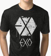 EXO GRUNGE SPRAYPAINT Tri-blend T-Shirt