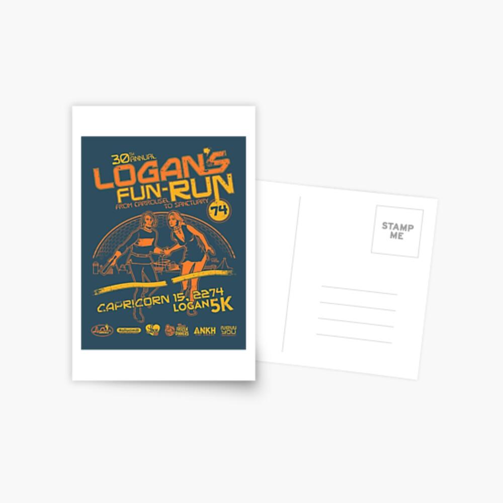 Logan's Fun-Run Postcard