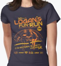 Logan's Fun-Run Women's Fitted T-Shirt