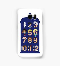 The Number Who Samsung Galaxy Case/Skin