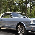 '66 Ford Mustang  by Wviolet28