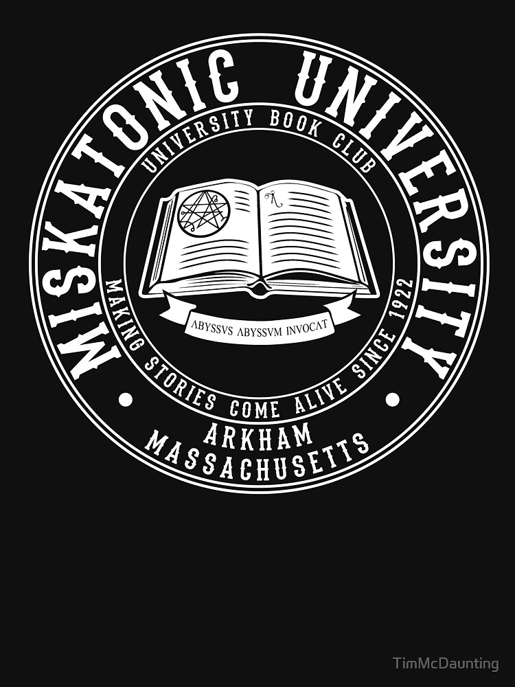 Miskatonic University Book Club by TimMcDaunting