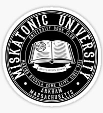 Miskatonic University Book Club Sticker