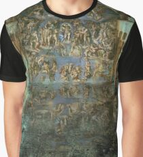 Apocalyptic Vision of the Sistine Chapel Rome 2020 Graphic T-Shirt