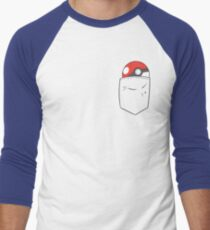 POKEBALL POCKET Men's Baseball ¾ T-Shirt
