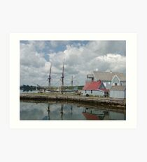 Pictou Harbour Art Print