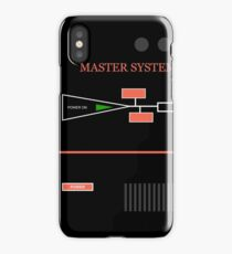 MASTER SYSTEM iPhone Case