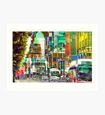 dublin (2014) Art Print