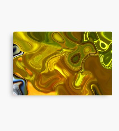 CHARTREUSE SERIES Abstract XII Canvas Print