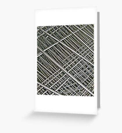 grid Greeting Card