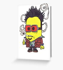 "Tyler ""Minion"" Durden, Banana Club. Greeting Card"