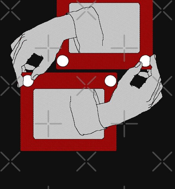 Escher Sketch by Dave Graff