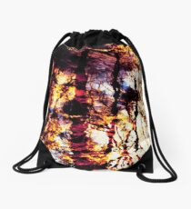 Fiery Reflections Drawstring Bag