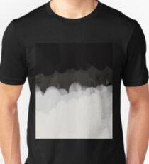 Zen Landscape in black and white T-Shirt
