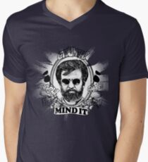 Rajinikanth : Mind It Men's V-Neck T-Shirt