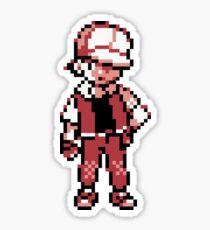 Red (Trainer) - Pokemon Gold & Silver Sticker
