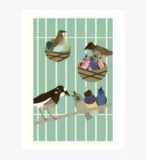 Faith + Birds Art Print