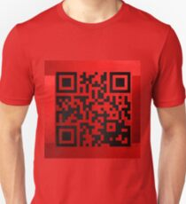QR Codes - Code Red Unisex T-Shirt