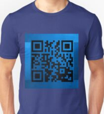 QR Codes - Code Blue Unisex T-Shirt