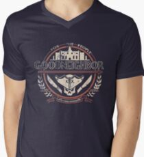 Goodneighbor Men's V-Neck T-Shirt