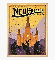 Vintage poster - New Orleans Photographic Print