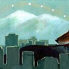 Coyote Skyline by Eva Landis