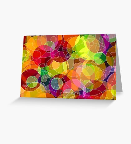 Bubble Madness Greeting Card