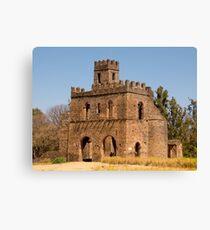 gondor castle in ethiopia Canvas Print