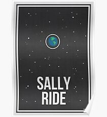 SALLY RIDE- Women in Science Wall Art Poster