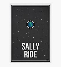 SALLY RIDE- Women in Science Wall Art Photographic Print