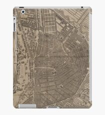 Vintage Pictorial Map of Amherst MA (1886) iPad Case/Skin