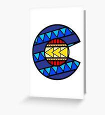 Colorado Tribal Flag: True Colour Greeting Card