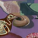 Doughnut Pigeons by Eva Landis