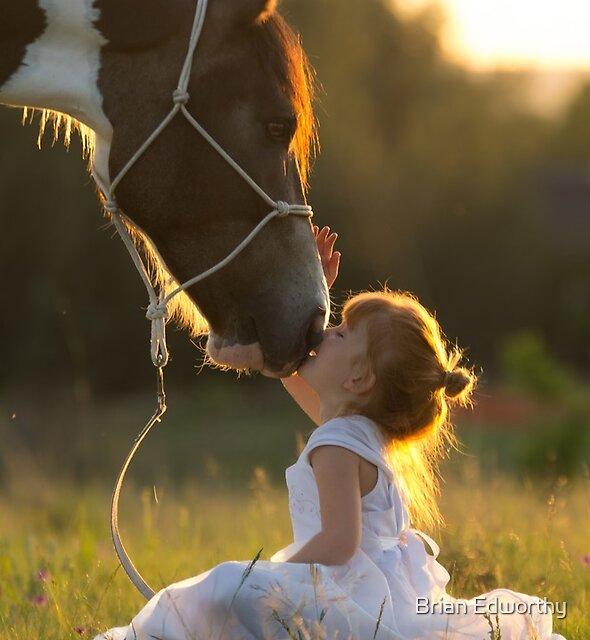 Pony Kisses by Brian Edworthy