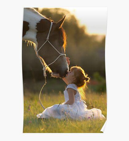 Pony Kisses Poster