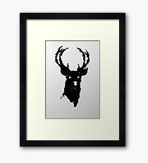 The Buck Framed Print