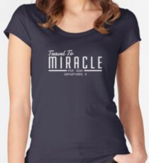 The Leftovers - Travel To Miracle Women's Fitted Scoop T-Shirt