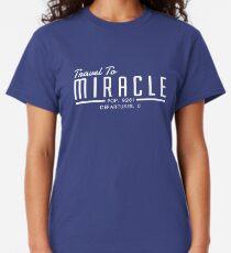 Camiseta clásica Las sobras: viajar al milagro
