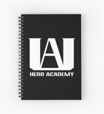 Logo der UA Hero Academy - (My Hero Academia, Boku no Hero Academia, BNHA) Spiralblock