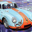 GULF Porsche 356  by Yuriy Shevchuk