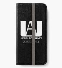 U.A. High Plus Ultra logo - (My Hero Academia, Boku no Hero Academia, BNHA) iPhone Wallet/Case/Skin