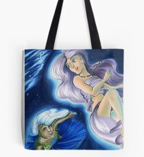 The Planets: Earth and Moon Tote Bag