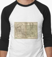 Vintage Map Of Arizona And New Mexico 1899 T Shirt